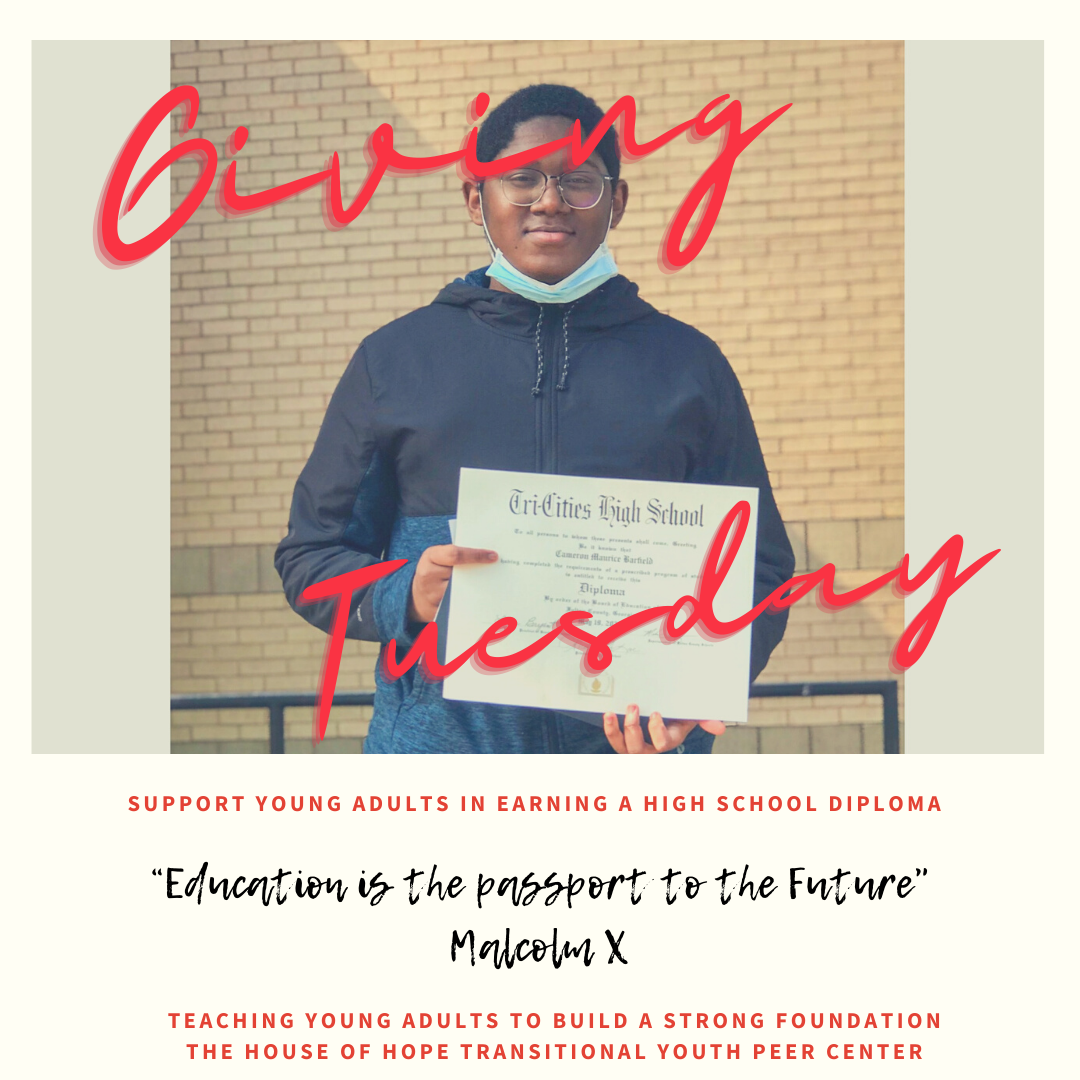 Giving Tuesday - Support Young Adults