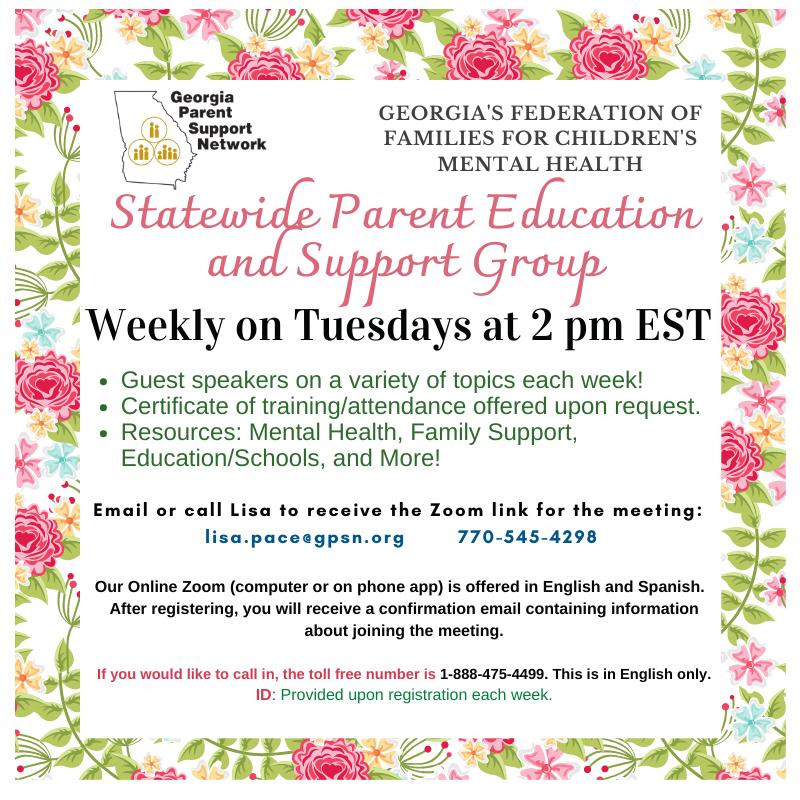 SPSG Flyer for posting on website